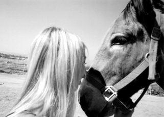 Amy&donkey